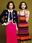 Hye-Yeon Han, Sera Park, Jun Young Park Splash of Colors Harper's Bazaar Korea February 2011 Kim Yeongjun (8)