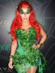 Kim Kardashian as Poison Ivy from Batman