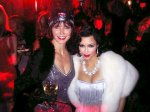 kim kardashian at Eva Longoria's halloween party