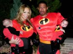 Mariah Carey & Nick Cannon super hero family