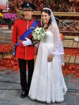 Matt Lauer & Ann Curry as kate and wiiliam at their wedding
