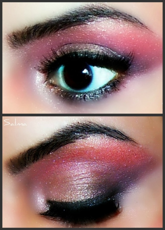 light multicolor look