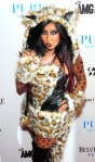 snooki as a leopard,