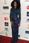 Kelly Rowland arrives at the Clive Davis and the Recording Academy's 2012 Pre-Grammy Gala and Salute to Industry Icons Honoring Richard Branson on February 11, 2012 in Los Angeles, California