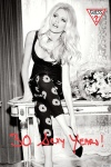 Claudia Schiffer for GUESS ad 2012 in their 30th anniversary