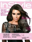 Kim Kardashian for InStyle UK Cover August 2012